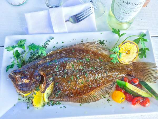 whole fish plated meal